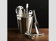 Bar Tool Set Silver Crate and Barrel