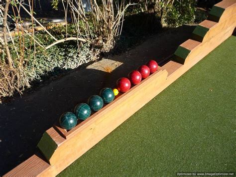 backyard bocce court dimensions 16 best images about bocce plans on bocce