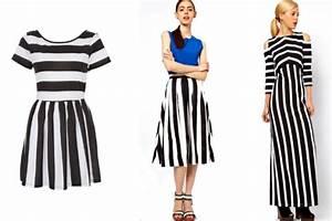 Striped Trend: The tandem more vertical black & white ...
