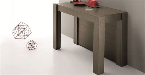 console extensible rallonge integree table console rallonge integree