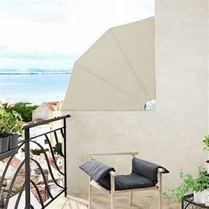 140x140cm balkonfacher windschutz sichtschutz markise With markise balkon mit barock tapete beige