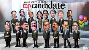 2016 Republican Party Presidential Candidates List   A ...