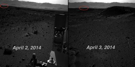 Mars Light by Nasa Debunks Theories On Mysterious Mars Light Photos