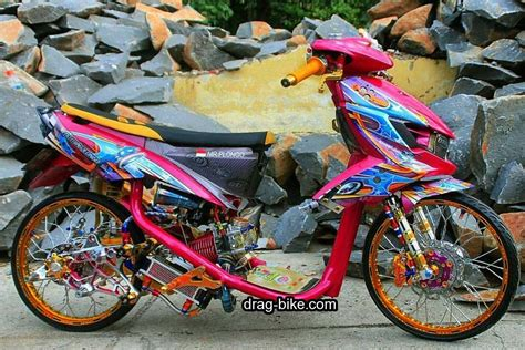 Modifikasi Mio Thailook by Modifikasi Mio Soul Thailook Racing Gt Motor
