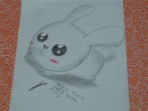 como dibujar  conejito kawaiihow  draw  beuatiful rabitt frik art youtube