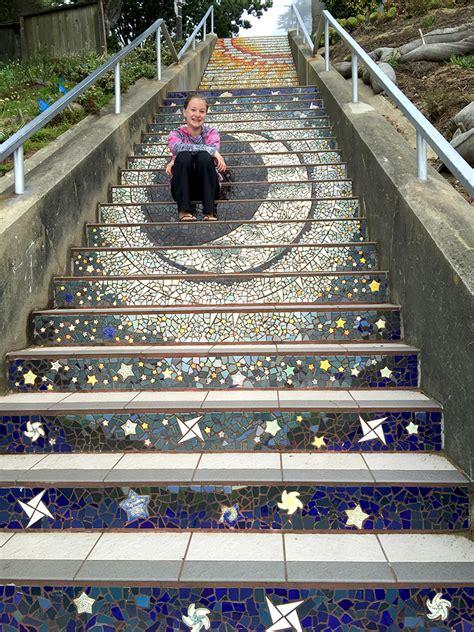 16th Avenue Tiled Steps Parking by 16th Avenue Tiled Steps Golden Gate Heights San Francisco
