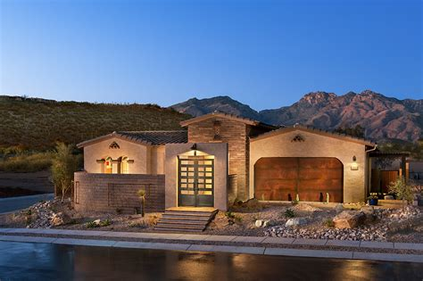 adobe style home plans focus on homes in tucson arizona