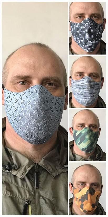Mask Face Pattern Pdf Masks Sewing Sew
