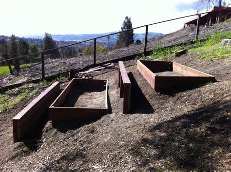 retaining wall on steep slope my backyard farm truthology net