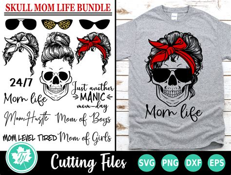 We do not share your email with anyone. Skull SVG / Mom Life SVG / Messy Bun SVG / Svg Files for ...
