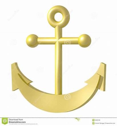 Anker Golden Anchor Goldener Gouden Dorato Ancoraggio