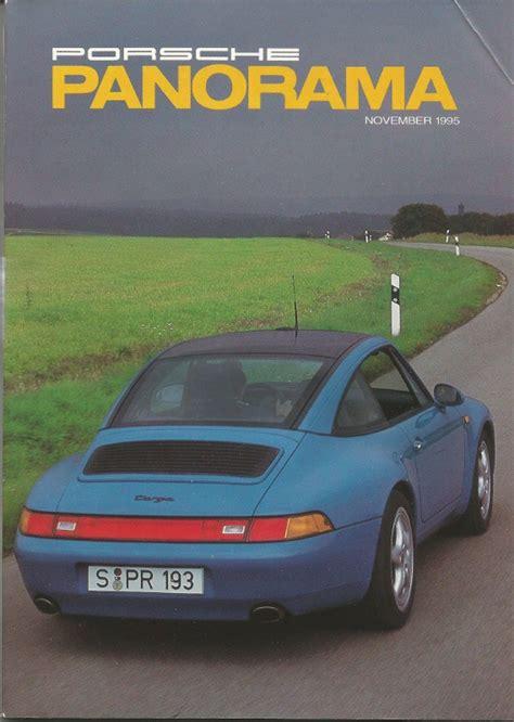 panorama porsche price porsche panorama 1995 nov new 911 carrera targa road