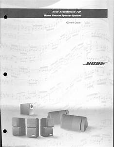 Bose Home Theater System 700 User Guide