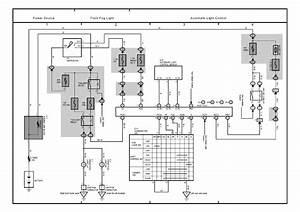 Central Lock Wiring Diagram Toyota