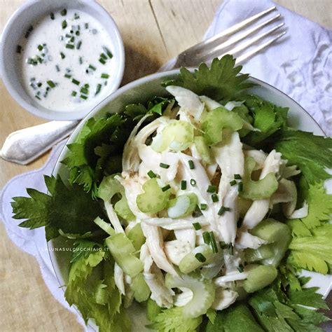 insalata di pollo sedano maionese insalata di pollo e sedano senza cottura la sul