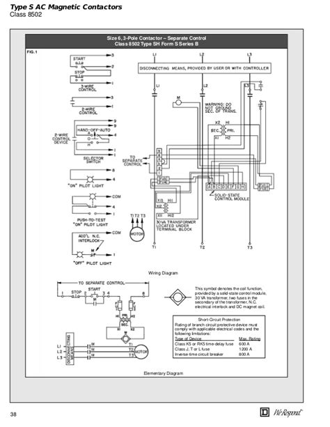 Lighting Contactor Wiring Diagram by Square D Lighting Contactor Wiring Diagram 8903