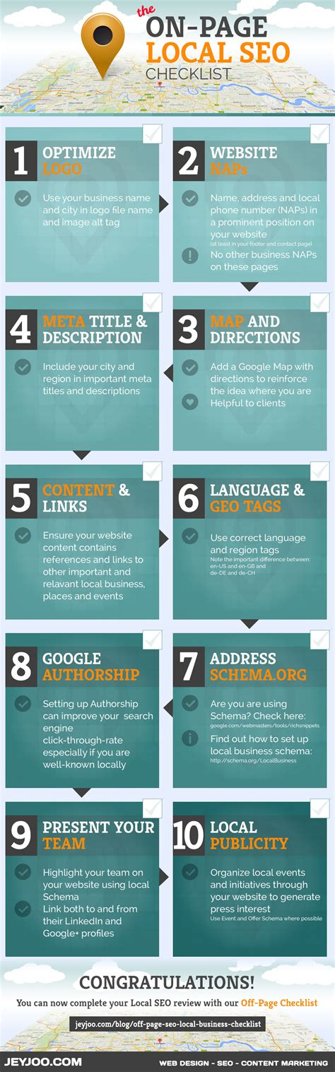 seo website on page local seo 10 tips to improve your local seo