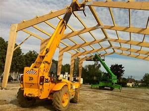 Hangar En Kit Bois : construction de b timents ou hangars agricoles en bois ~ Premium-room.com Idées de Décoration