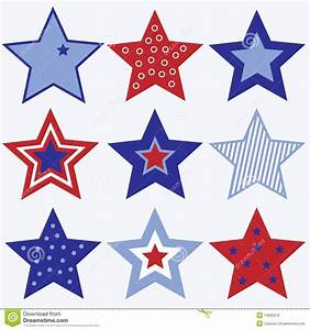 Gallery For > Fourth of July Stars Clipart