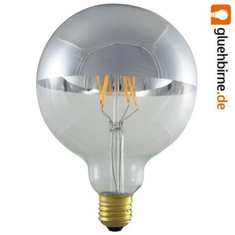 spiegel mit glühbirnen led filament globe kopfspiegel silber gl 252 hbirne g125 4w fast wie