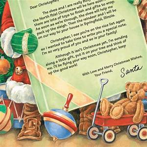 personalized letter from santa view 3 With miles kimball letter from santa