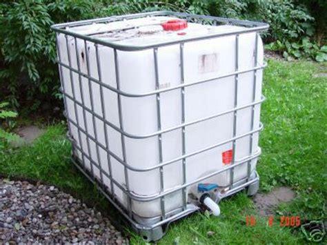 Wasserbehälter 1000 Liter  Industriewerkzeuge Ausrüstung