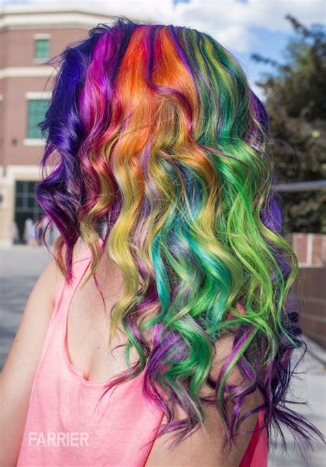 Dyed Hairstyles by Hair In The Rainbow Hair Category