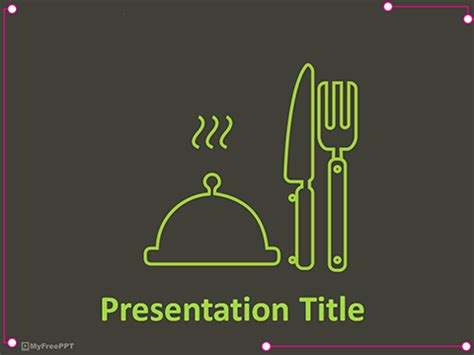 culinary powerpoint templates  culinary powerpoint