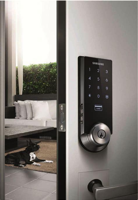 samsung smart digital deadbolt door lock  mechanical