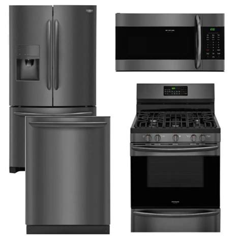 Kitchen Appliances: frigidaire appliance package 4 Piece