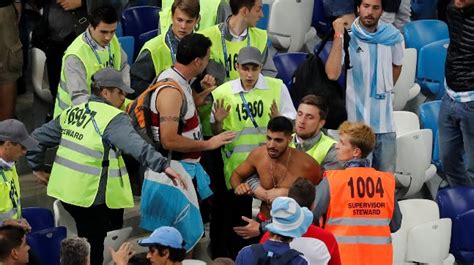 World Cup Police Detain Argentinians For Beating