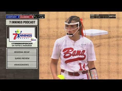 Alabama vs Kentucky Game 1 | Women Softball May 28,2021 ...