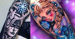 20 frozen tattoos that will you belting quot let it go