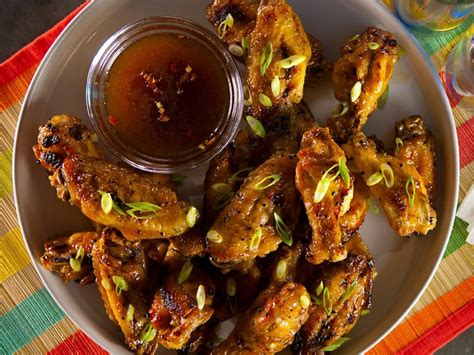 baked chicken wing recipes food network recipes