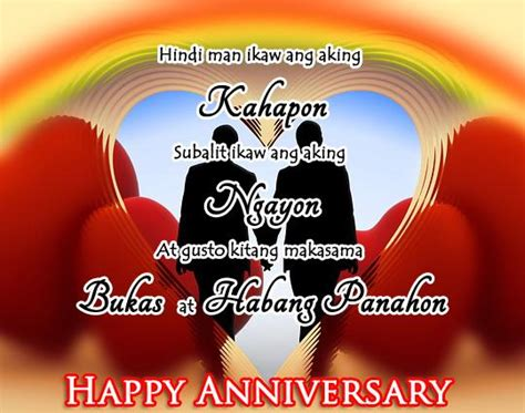 anniversary quotes  wife tagalog image quotes