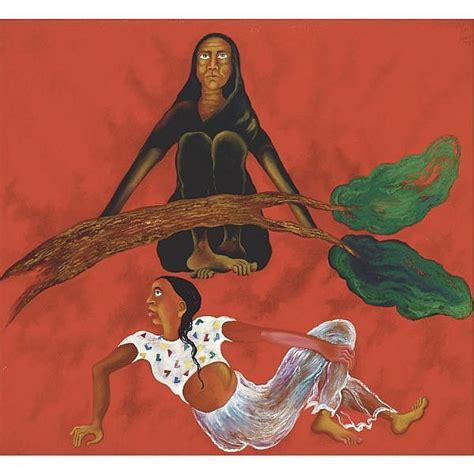 Arpana Caur (b. 1954) , Time - Image Oil on canvas
