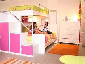 Cool Bunk Beds for Teenage Girls Bunk Beds with Swirly ...