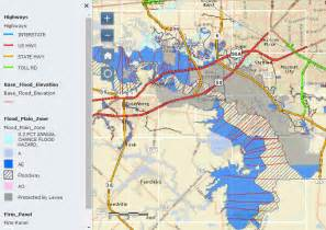 Texas Flood Zone Map