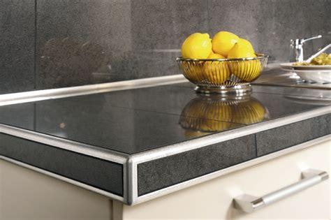comptoire de cuisine schluter rondec ct for countertops profiles