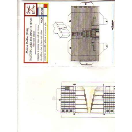maison du livre de l image et du maison du livre de villeurbnne tarjetas pre recortadas papel3d