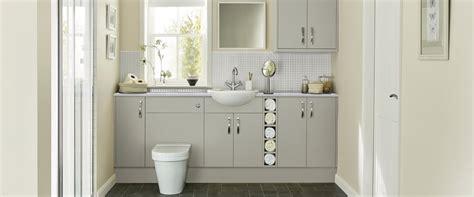 Stockbridge Super Matt Bathroom Cabinet  Howdens Joinery