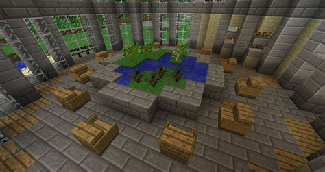 small library minecraft project