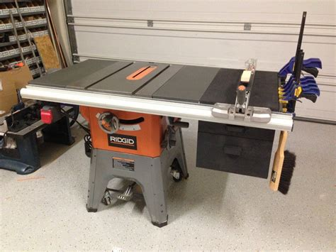weekend project   woodworking shop layout ridgid table  table  extension