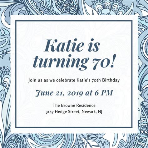 customize   birthday invitation templates