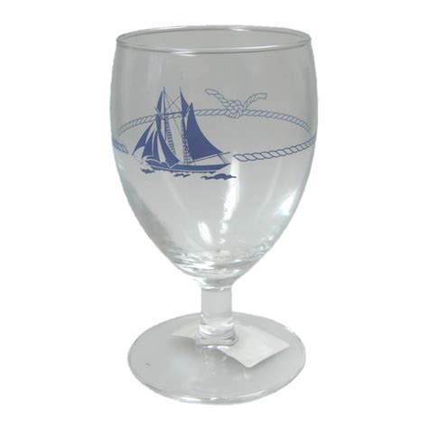 Boat Wine Glasses by Ship Design Wine Glass Marine
