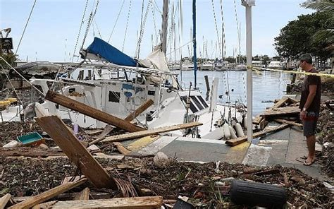 Damaged Boats For Sale In Miami by Miami Area Starts Cleanup After Irma Devastation The