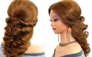 easy wedding hairstyles easy wedding prom hairstyle for hair tutorial