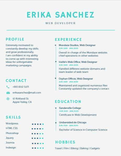 medical resume template cover letter  ms word