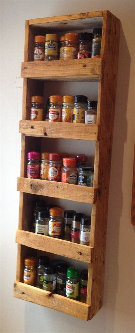 door mounted wooden spice rack  kitchen furniture ideas  images wooden spice rack
