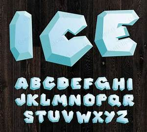 Letter Writing Format Download 26 Ice Alphabet Ice Letters Snow Letterssnow